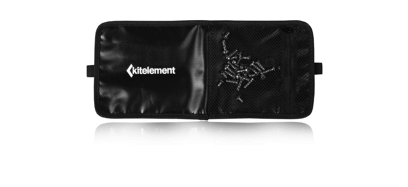 kitelement - travel bag - re pack case for fins