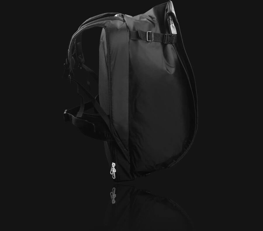 repack split kiteboard backpack adjustable height