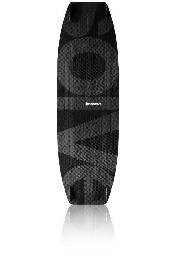 kitelement - split kiteboard - re solve black