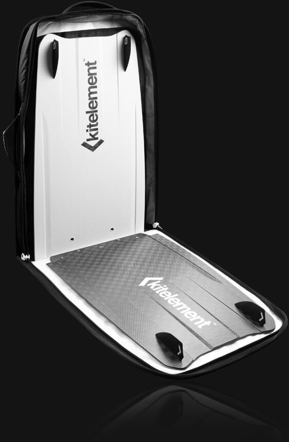 kitelement - travel bag - retake luxury split kiteboard cover
